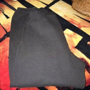 Hanes XL grey sweatpants pre 💕 in good condition